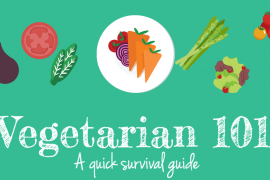 Vegetarian 101 – A quick survival guide if one is coming over for dinner!