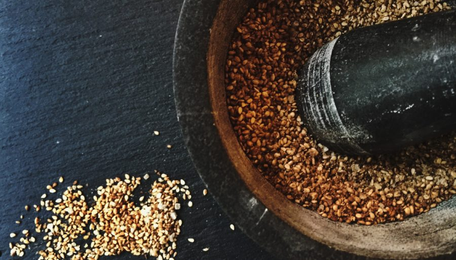 Gomasio Recipe. Japanese Toasted Sesame Salt.